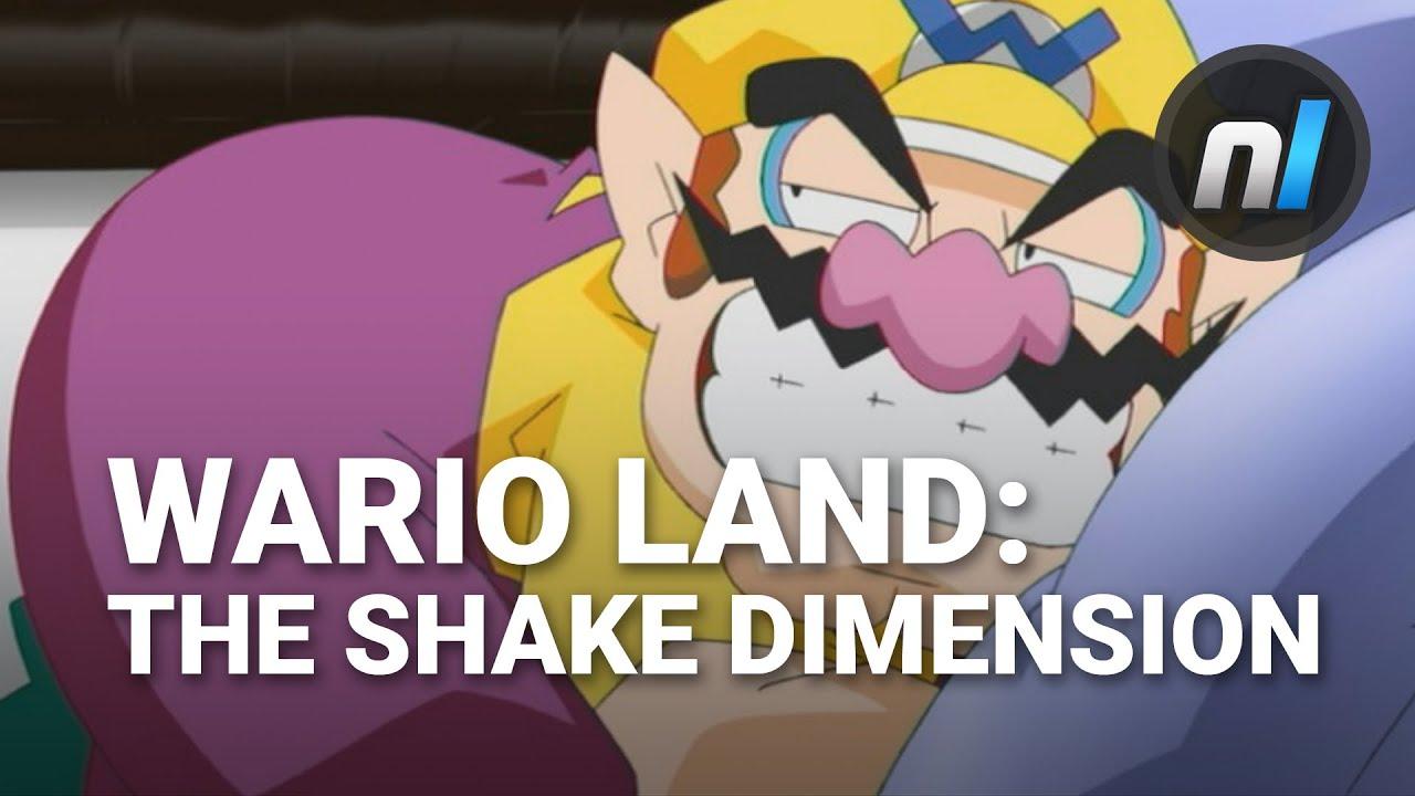 The Prettiest Wii Game Wario Land The Shake Dimension Wii U Gameplay Youtube