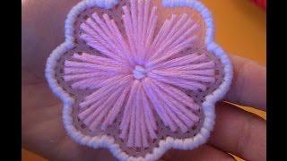 Flower Plastic Canvas