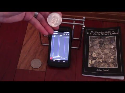 Android Bullion Test App Testing Morgan/Peace Silver Dollars