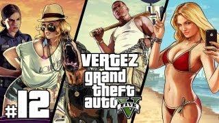 GTA 5 [PS3] #12 - Tortury i zabawy w dokach - Vertez Let