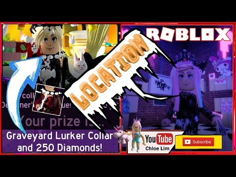Roblox Royale High Halloween Event Gamelog October 16 2019 Roblox Gameplay Royale High Halloween Event Pridest Homestore Graveyard Lurker Collar All Candy Location Dclick