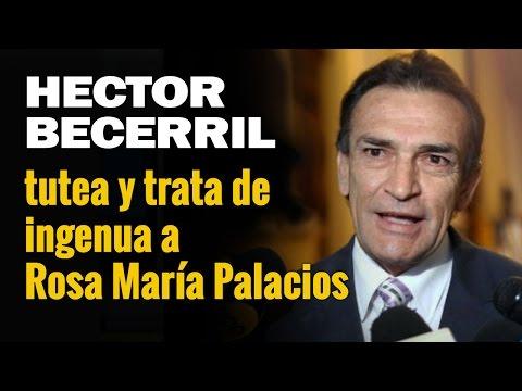 Héctor Becerril tutea y trata de ingenua a Rosa María Palacios | 07-07-16