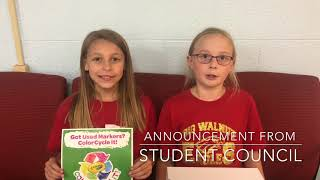 Hylen Souders Morning Announcements September 10th, 2018