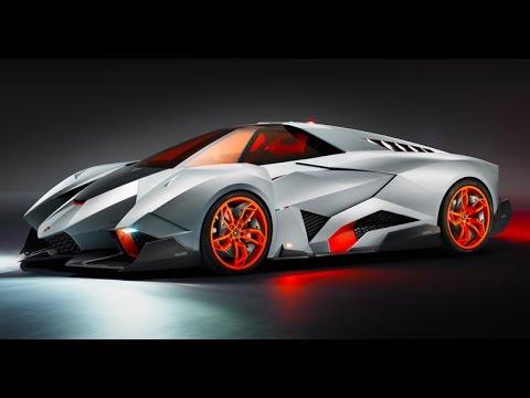 Lamborghini Egoista HD 2014 Single Seater Debut Commercial Walter de Silva Anime Manga Carjam TV