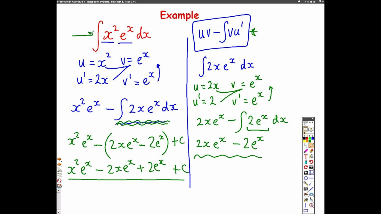 C4 Integration By Parts L2 Harder Questions Youtube