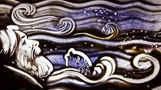 """""""Сказка о рыбаке и рыбке"""" А.С. Пушкина - Рисованная песочная анимация / Песочное шоу """"Sand-Show"""" 👴🐠"""