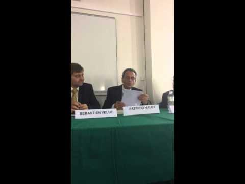 Embajador Patricio Hales en homenaje a Andrés Bello