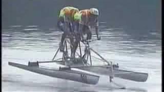 凄いスピード 人力ボート