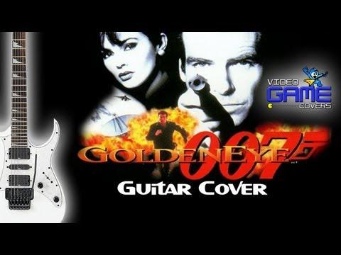GoldenEye 007 (N64) - Intro guitar cover by Guitar Geek