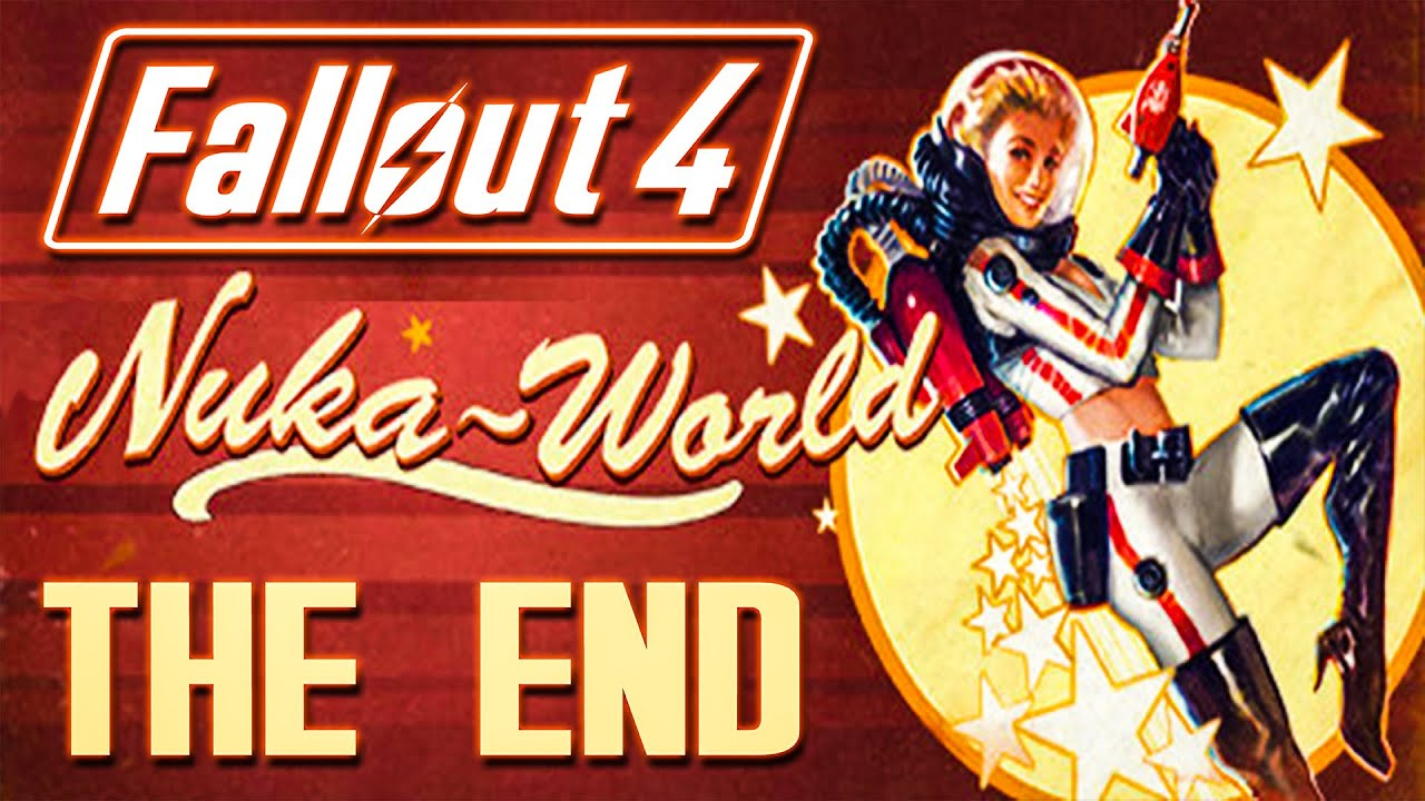 Nuka Cola Hd Wallpaper Nuka World The End Of Fallout 4 Youtube
