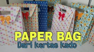 Paper Bag dari kertas kado, versi cepat.