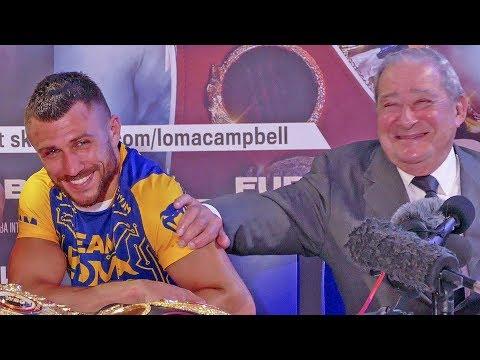 Vasyl Lomachenko Vs. Luke Campbell POST FIGHT PRESS CONFERENCE | #Boxing