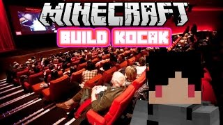 Minecraft Indonesia - Build Kocak (22) - Bioskop!