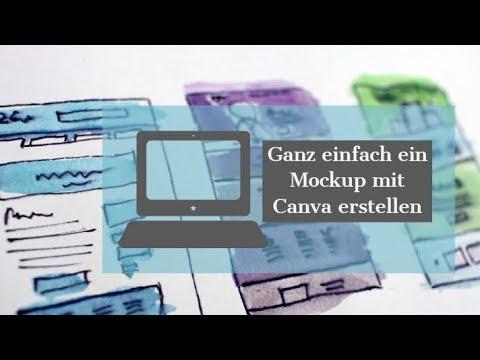 Mockup mit Canva erstellen