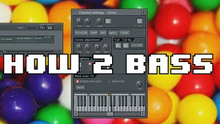 HOW TO BUBBLEGUM BASS using 3xOsc