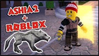 🐺 ich verwandelte MYSELF in einen WOLF 🐺 ASHIA2 + Roblox: Swordburst 2