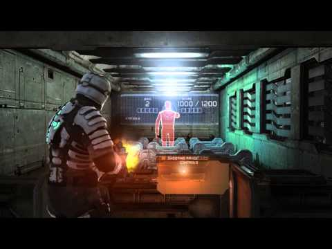 Dead Space 1 [PC] Shooting Range, All Weapons Maxed Out
