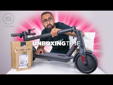 Xiaomi Electric Scooter - Unboxing Time 9