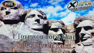 More Than You'll Ever Know by Michael Ruff - Karaoke