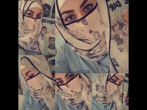Sheer Niqab Tutorial (Using A Headband)