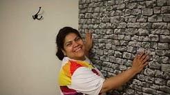 DIY Pasting Non Woven Wallpaper