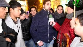 رد فعل شباب مولنبيك على تضامن مع فرنسا