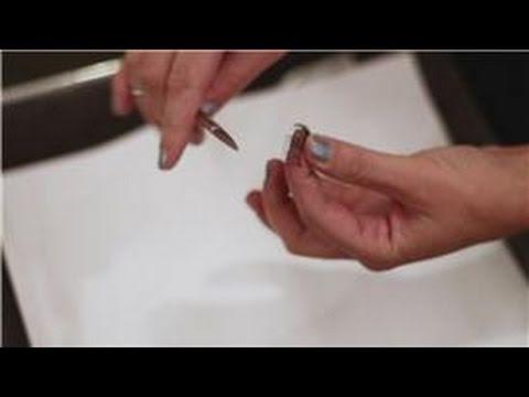 Eye Makeup Tips : How to Trim Fake Eyelashes - YouTube