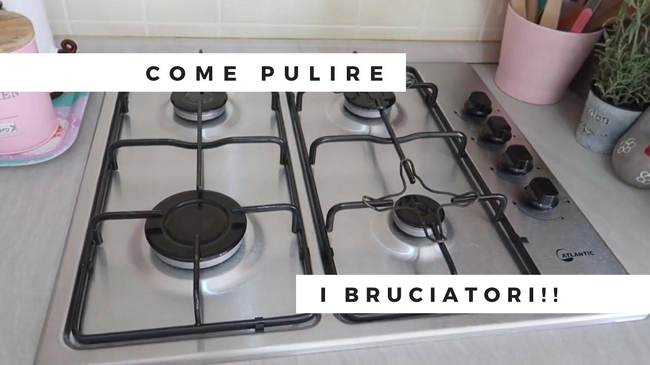 Come Pulire Il Piano Cottura come pulire i bruciatori dei fornelli!