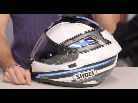 Shoei Gt Air >> Shoei GT-Air Dauntless Helmet Review at RevZilla.com - YouTube