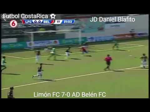 Limón FC 7-0 AD Belén FC 19/feb/2017 Futbol De #CostaRica ⚽