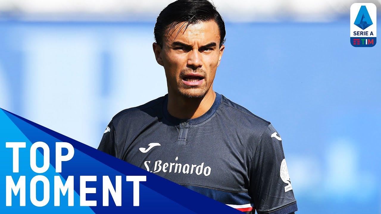 Audero Incredibly Denies McKennie a Debut Goal!   Juventus 3-0 Sampdoria   Top Moment   Serie A TIM