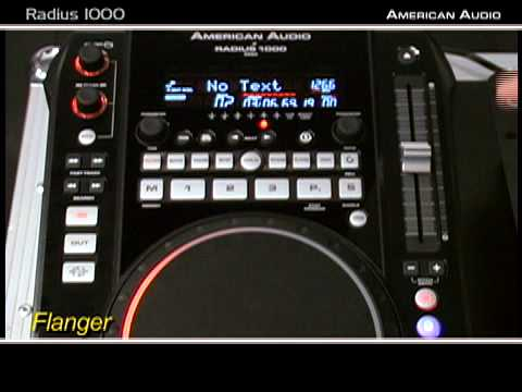 Radius 1000 - CD/MP3 Player/Midi Controller from American DJ