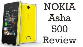 nokia Asha 500 Unboxing And Review  Camera, Gaming, Features, Specs And Design
