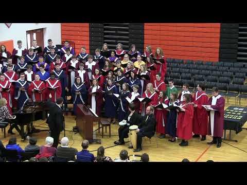 Ft. Jennings Hosts Putnam County Art Festival - Choir Performance