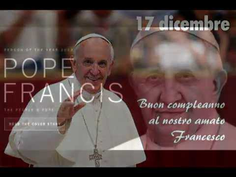Buon compleanno Papa Francesco 17 dicembre. Feliz Cumpleaños Papa