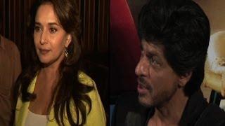 What Madhuri wants Shah Rukh to do