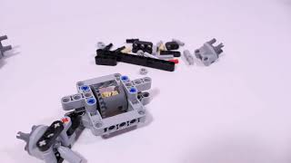 HOW TO BUILD: Lego® Technic steered & driven OFFROAD AXLE 4x4