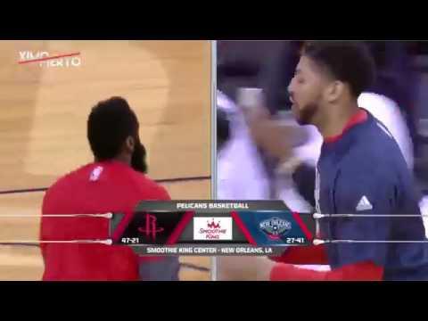 Houston Rockets vs New Orleans Pelicans Full Highlights March 17 2017 2016 17 NBA Season