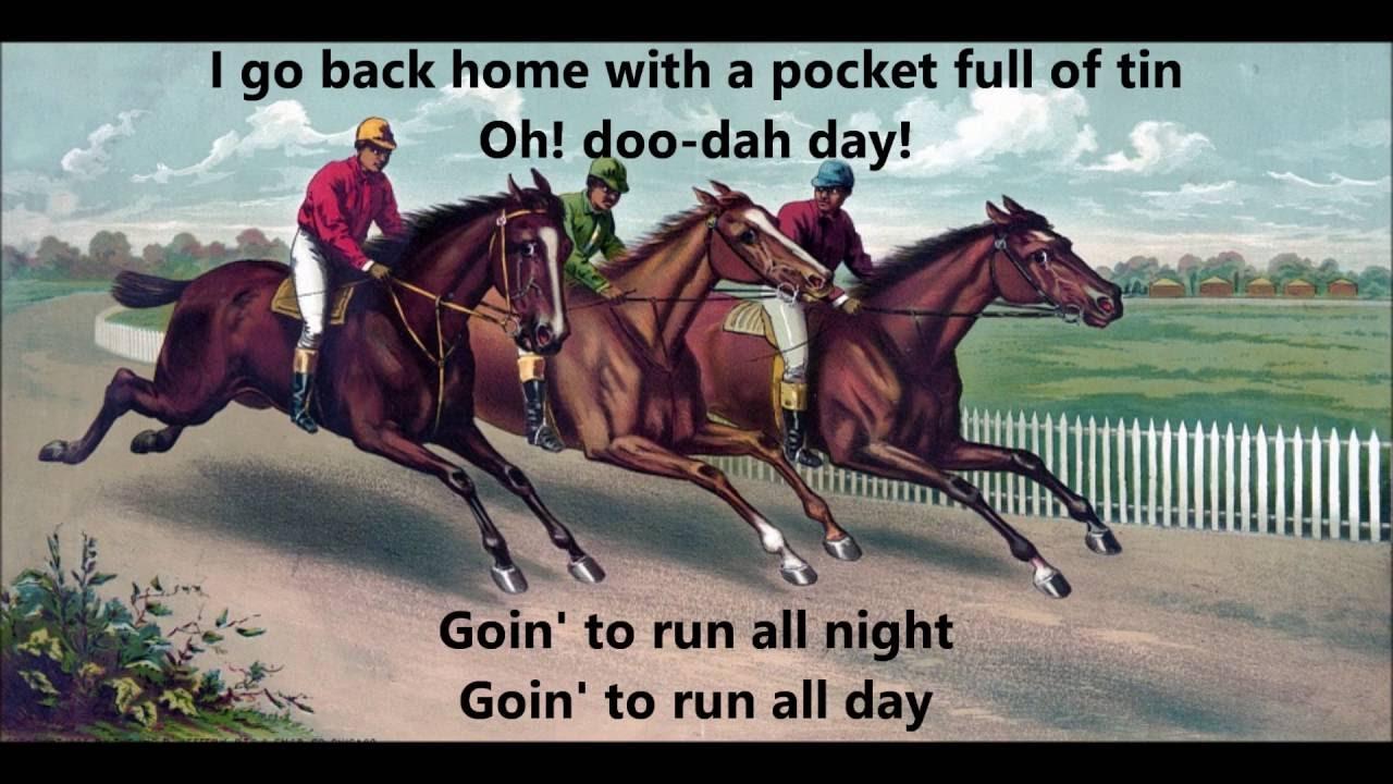 lyrics to camptown races