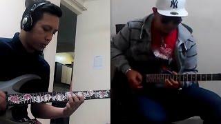 Selamat Berhari Raya (Instrumental rock) - firdaus masri (chip) vs arip