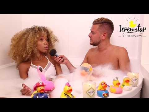 Ingrid (10 couples parfaits) dans le bain de Jeremstar - INTERVIEW