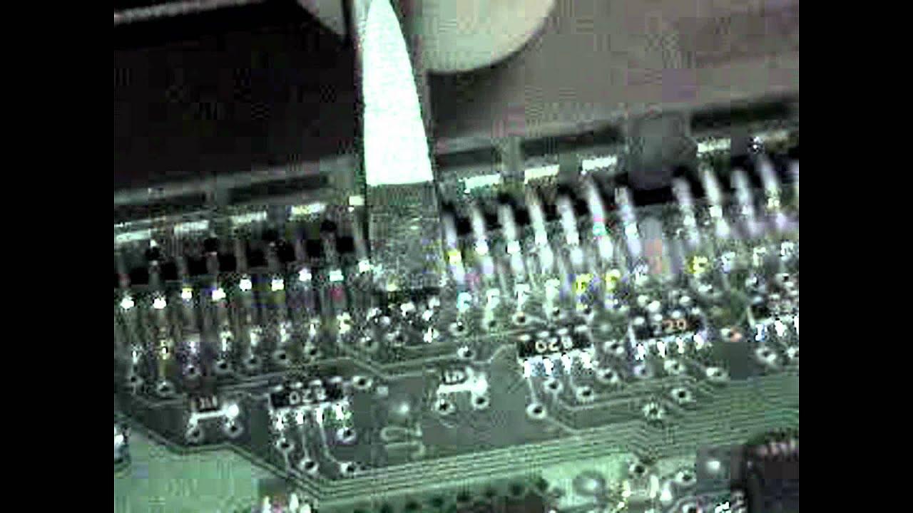 Re Soldering Hard Drive Broken Pin Board Side Youtube
