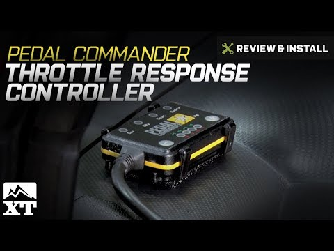 Jeep Wrangler Pedal Commander Throttle Response Controller (2007-2017 JK) Review & Install