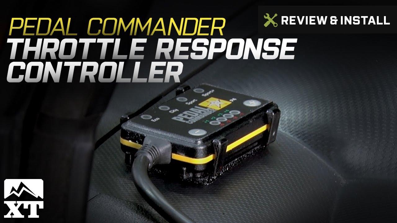 jeep wrangler pedal commander throttle response controller 2007 2017 jk review install [ 1280 x 720 Pixel ]