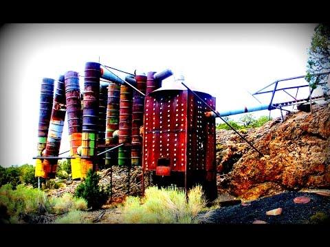 Strange & Creepy Structure in Nevada Desert - Near Area 51
