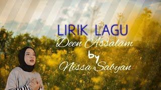 Lirik Lagu Deen Assalam by Nissa Sabyan