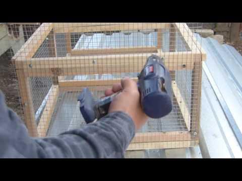 Короб для перевозки и продажи цыплят