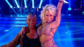 Colin Salmon & Kristina Cha Cha to 'I Got You (I Feel Good)' - Strictly Come Dancing 2012 - BBC One