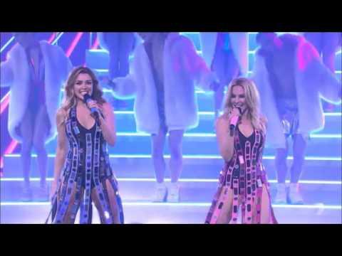 Kylie ft Dannii Minogue  100 degrees XFactor AU