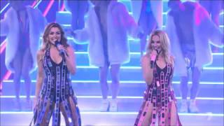 Kylie ft. Dannii Minogue - 100 degrees (XFactor AU live)